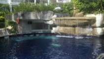 Sunset Beach Resort - Waterfall and Bar