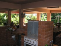 Covered Terrace - Kitchen